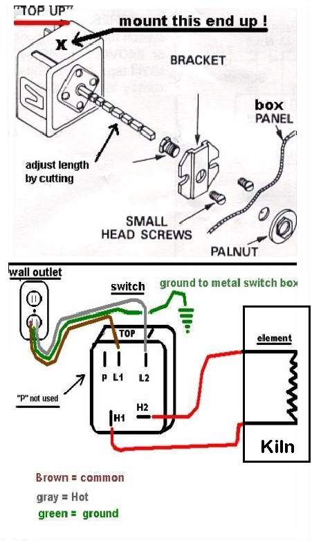 kiln heat treating flint in a kiln robertshaw infinite switch wiring diagram at webbmarketing.co